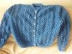 Gilet tricote main 42/44 femme