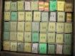1 boite de ruban d'initiale ancienne complètes, « une grosse » soit environ 144 monogrammes.
