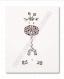 Affiche - illustration girafe