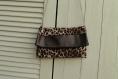 Pochette motifs léopards