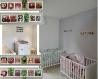 Deco chambre enfant , theme des bois , cadeau de naissance original