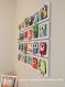 Deco murale chambre bébé unique et originale. hiboux oiseaux colores