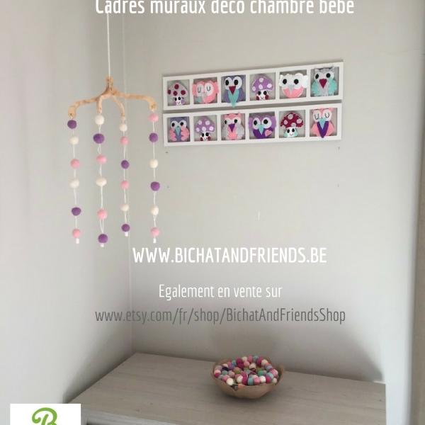 Idée décoration chambre enfant et bébé. cadre decoratif pour chambre ...