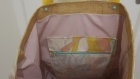 Sac de plage, sac cabas, sac shopping, sac a main, tote bag, sac tendance motif tropical, ananas, aux couleurs pastels