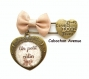 S.6.146 bijou mamie bijou de sac mamie petit calin noeud bijou fantaisie bronze bijou de sac cabochon verre cadeau mamie cadeau fête des grands-mères (série 2)