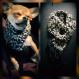 Foulard crochet