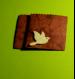 4 pochettes plates façonnées main et décorées