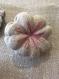 Broche  fleur lin japonaise
