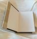 Cahier thérapeutique: le livre du bonheur coton brodé et boutons en métal style mixte