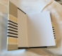 Cahier thérapeutique: le livre du bonheur coton imprimé et boutons en métal style mixte