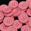 Mercerie Lot de 5 boutons en plastique rose 18mm 22mm ou 26mm button