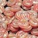 B71h2r / mercerie lot de 5 boutons plastique rose nacré 20mm