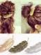 Barrette a cheveux forme plume