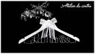 Cintre robe mariée personnalisable avec votre prénom