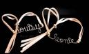 Exprimez vos émotions avec ce bracelet personnalisé à message en gold filled or rosé ou or 14 carats