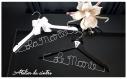 Magnifique cadeau ensemble cintres personnalisable la mariée + le marie