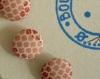 Plaquette de huit boutons recouverts plaq 74