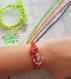 Bracelet cordage marin ancre