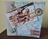 Carte 3d vintage avion