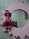 Miroir étoile rose