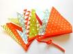 Guirlande / fanions  -multicolore-