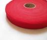 Biais coton rouge 25 mm / qualité supérieure