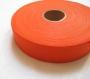 Biais coton orange vif 28 mm / qualité supérieure