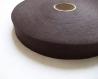 Biais coton marron chocolat 28 mm / qualité supérieure