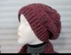 Bonnet slouchy laine - alpaga - mohair