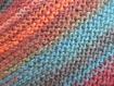 Chèche au tricot point mousse