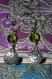 Boucles d'oreilles steampunk vertes