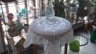 Centre de table ou petite nappe crochet d'art