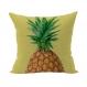 Housse de coussin ananas 45x45 cm