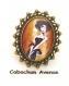 B3.461 bijou femme parisienne bague filigrane ajustable réglable bijou fantaisie bronze cabochon verre femme élégante fashion victim mode haute couture (série 1)