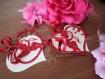 Etiquettes saint valentin x2