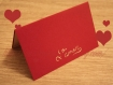 Carte saint valentin - l'amour
