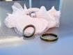 connecteur ovale bronze x 4 passe cordon, passe fil bronze antique pour bracelet 19x14.5x3 mm,