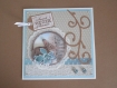Carte de voeux 3d sweet winter season
