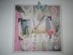 Carte 3d papillons et amour