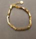 Bracelet : perles hématite