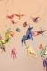Mobile d'origami suspension en spirale chambre enfant bébéi animaux licorne grue