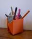 Pot à crayon en papier bureau enfant