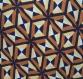 Snood géométrique, écharpe ronde marron, tour de cou marron, foulard tissu géométrique, dessin géométrique, cadeau femme, écharpe viscose