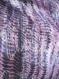 Tour de cou en tissu, col écharpe chiffon, écharpe mauve, snood femme mauve, tour de cou mauve, col écharpe tissu, écharpe en tissu, snood