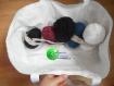 Ensemble (sac à tricot ou à ouvrage et range aiguilles) provencal 2