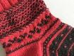 Grande chaussette de plâtre, large chaussette,   chaussette pour plâtre, chaude, pure laine. cast sock. cast protection. cadeau convalescence