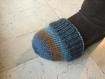 Bonnet pour pied plâtré, bonnet pour botte de marche, cache orteils, chaussette pour jambe  plâtrée, chaussette de botte de marche. bonnet chirurgie du pied