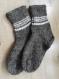 Chaussettes en laine alpaga homme/femme taille 38-39 marron