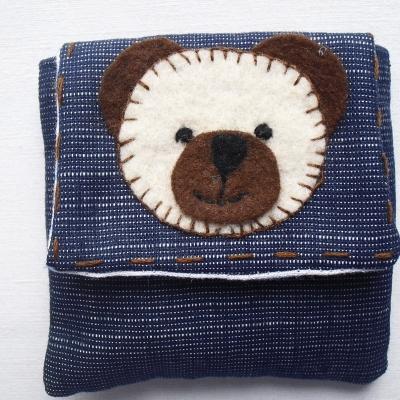 Porte-monnaie à l'ourson