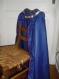 Déguisement : cape de chevalier bleu roi
